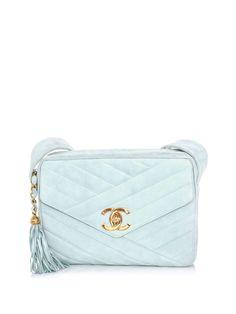 Chanel vintage envelope and tassel bag