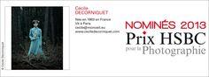 Nominée 2013 prix HSBC pour la Photographie