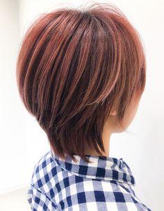 前下がりショート(YG-518) | ヘアカタログ・髪型・ヘアスタイル|AFLOAT(アフロート)表参道・銀座・名古屋の美容室・美容院