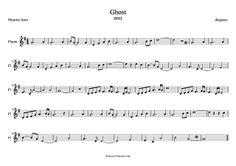 """diegosax: Unchained Melody de Righteous Brothers. Ghost """"Más allá del amor"""" de Maurice Jaree. Partitura para Saxofón, flauta y trompeta de la Banda Sonora de Ghost (Sax, Flute, Trumpet Scores)"""
