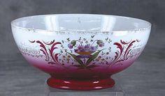 German Porcelain Punch Bowl Circa 1900