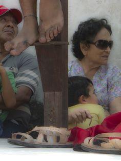 "©Fe distraida, de la serie: ""Misteriosa fe"" 7 de Agosto de 2013 Campeche, Camp; México."