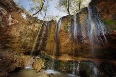Clark Creek in Mississippi is only a half an hour drive from Tunica Hills WMA, West Feliciana Parish, Louisiana