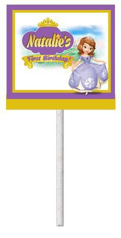 Sofia the First Lollipops