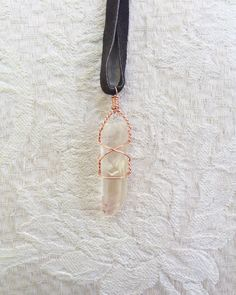 Ein persönlicher Favorit aus meinem Etsy-Shop https://www.etsy.com/de/listing/485587927/clear-quartz-necklace