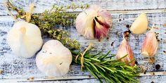 Immune Boosting Garlic Soup via @iquitsugar