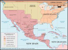 El Virreinato de Nueva España fue uno de los cuatro virreinatos en que se dividía administrativamente la América colonial española. Fue el primero en fundarse, en 1535; incluyó todas las posesiones...
