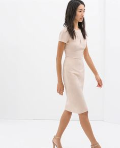 Image 3 of SHIFT DRESS from Zara