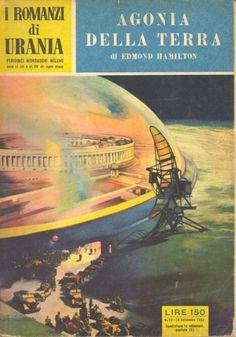 23  AGONIA DELLA TERRA 10/9/1953  CITY AT WORLD'S END  Copertina di  C. Caesar   EDMOND HAMILTON