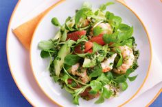 Yabby Salad with herb Dressing