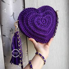 Urek canta.heart bag
