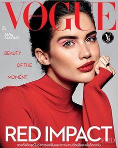 Vogue Magazine Covers, Fashion Magazine Cover, Fashion Cover, Vogue Covers, Toni Garrn, Sara Sampaio, Sara Beauty, Makeup Magazine, Vogue Beauty