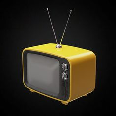 Old Retro TV - 3D furniture model - Use PROMO CODE: pin3d and get 20% off  - $9.00