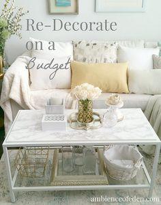 Ambience of Eden Design-Vancouver Interior Decorator | Ikea Hack -Vittsjo Coffee Table: 4 Ways