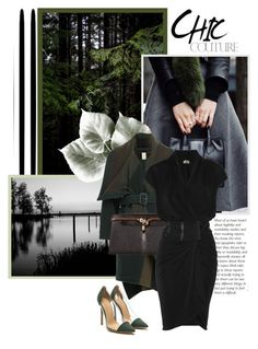 """""""Forest Instinct"""" by r-maggie ❤ liked on Polyvore featuring Burberry and Haute Hippie"""