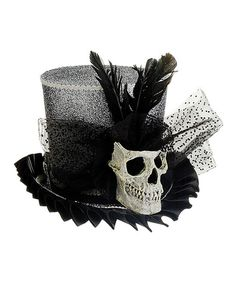 Look what I found on Skull-Accented Witch Hat by Allstate Floral & Craft Halloween Witch Hat, Hallowen Costume, Holidays Halloween, Happy Halloween, Halloween Decorations, Halloween Ideas, Witch Hats, Costume Ideas, Halloween Stuff