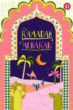 Kartika Paramita on Behance Ramadan Cards, Ramadan Greetings, Eid Mubarak Greetings, Poster Ramadhan, Wallpaper Ramadhan, Eid Card Designs, Ramadan Poster, Eid Stickers, Ramadan Background