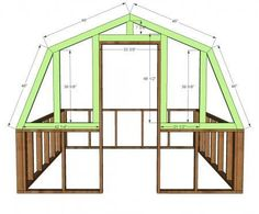 Ana White | Build a Barn Greenhouse | Free and Easy DIY Project and Furniture Plans #greenhousediy #greenhouseeffect