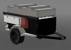 Customer trailer design Adventure Trailers, Off Road Trailer, Offroad, Europe, Design, Off Road