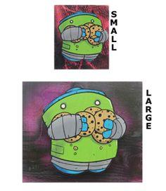 Pudge Robot Art. For a kitchen?