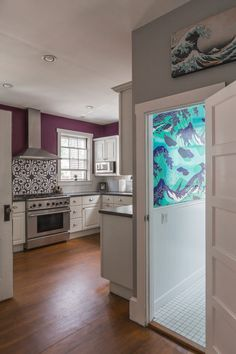 Joe and Alana's Newport Home Full of Bold Colors and Patterns