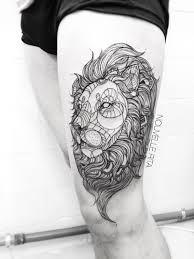 geometric lion - Google Search