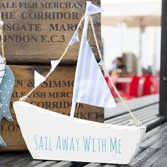https://www.sassandbelle.co.uk/Sail Away With Me Boat Decoration