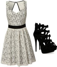 """""""lace prom"""" by phillips-katie ❤ liked on Polyvore"""