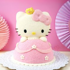 Loving Creations for You: Hello Kitty Princess Chiffon Cake