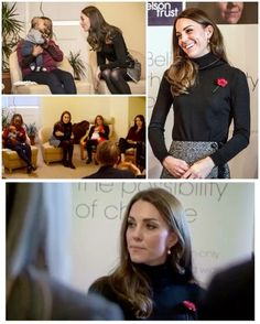 After her visit to the women's prison, the Duchess traveled to the Nelson Trust Women's Centre as part of her ongoing work with addiction and mental health.  The Centre provides a women-only space where a wide range of support needs can be addressed in a safe and supportive environment. Each client has their own Keyworker who works with them to develop a support plan to address their needs. This will be achieved through one-to-one sessions, group work and access  to specialist services…