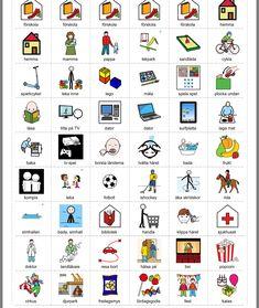 Swedish Quotes, Learn Swedish, Swedish Language, Bra Hacks, Learn English Grammar, Aspergers, Pictogram, Special Needs, France