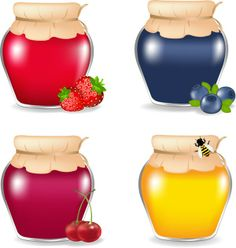 Free food jar 03 vector graphic in encapsulated postscript . Photoshop World, Free Photoshop, Jar Of Jam, Food Clipart, Jam And Jelly, Food Jar, Jar Labels, Print Layout, Food Illustrations