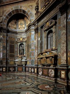 Chapel of the Princes at the San Lorenzo Church ~ Florence, Italy