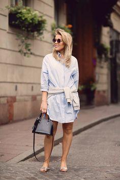 Shirt Dress - P.S. I love fashion by Linda Juhola