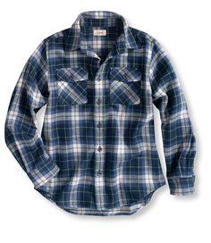 Boys' Flannel Shirt, Plaid from L.L.Bean on Catalog Spree, my personal digital mall.