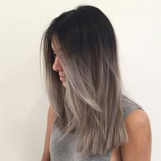 Dark a brown to gray