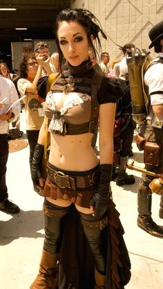 Con #Steampunk #Cosplay