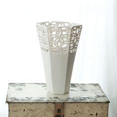 Porcelain Vase by Isabelle Abramson Ceramics Available Work