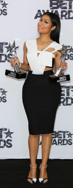 Nicki Minaj at the 2015 BET Awards