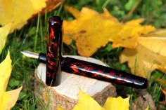 Fountain pen, ink, urushi, lacquer, handmade, Füllfeder, Tinte, Lack, selbstgemacht Swiss Army Knife, Dyes, Homemade, Swiss Army Pocket Knife