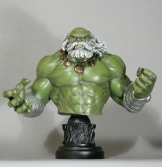 Maestro Hulk mini-bust  Sculpted by: Randy Bowen    Release Date: October 2012  Edition Size: