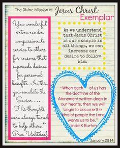 Visiting Teaching Message January 2014- Free printable