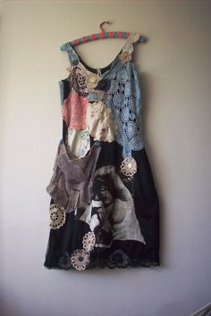 treasure chest dress size large rennaisance lady by lucyvnz, $122.00