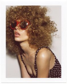 'Summer Beach Hair' Ondria Hardin by Dan Martensen for Vogue [Editorial] - Fashion Copious