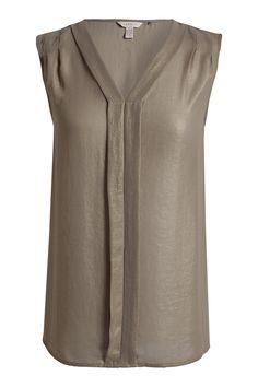 #Esprit glittering chiffon #blouse, inspiration for a blue top
