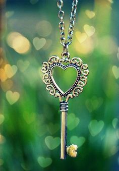 I really want a key pendant like this. Heart-shaped if possible. :D (EDIT: Found some! Not *quite* this cute, but close. Where did this come from???) :D