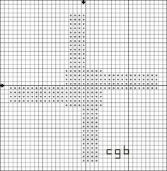 Free Brighid's Cross Cross-Stitch Pattern - - Right click and save this chart from Pinterest and follow the link for the chart info and key.