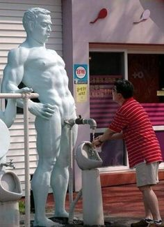 Funniest Plumbing Humor: Totally Bizarre Plumbing Image -- in SO many ways!