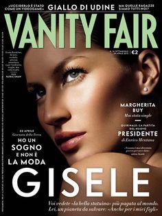 Gisele Bündchen - Vanity Fair Magazine Cover [Italy] (May 2013)