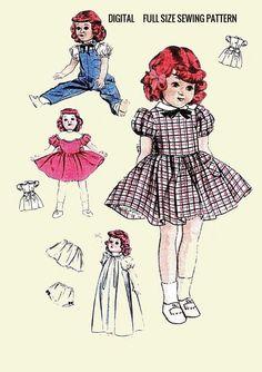"Pattern for 10.5/""  Little Miss Revlon Fashion Doll  #7265"